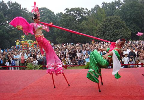 2008年10月南京桂花节表演