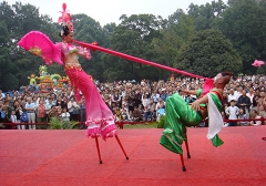 东北2008年10月南京桂花节表演
